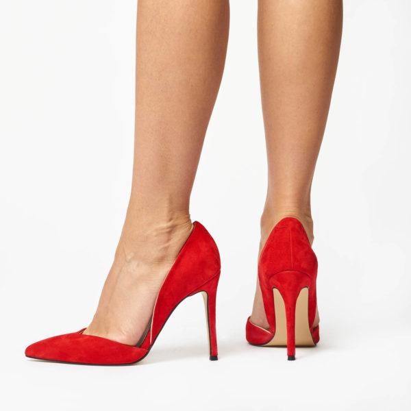 Pantofi Stiletto Mineli Venti Red 3