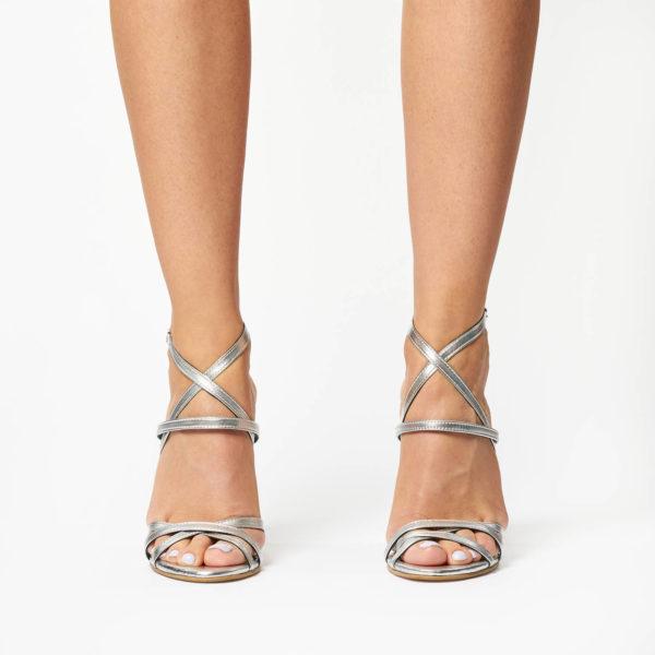 Sandale Mineli Fara Silver 1