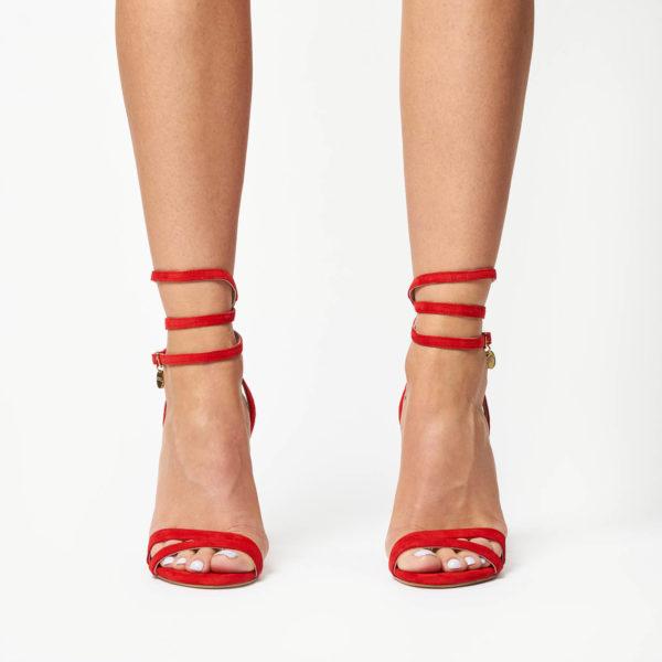 Sandale Mineli Helen Red 1